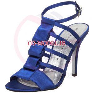 png کفش زنانه آبی