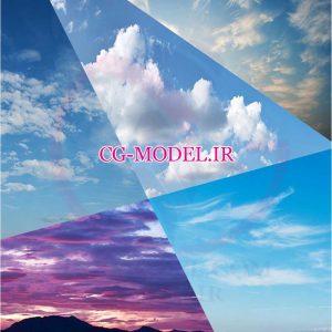 بک گراند آسمان با کیفیت عالی