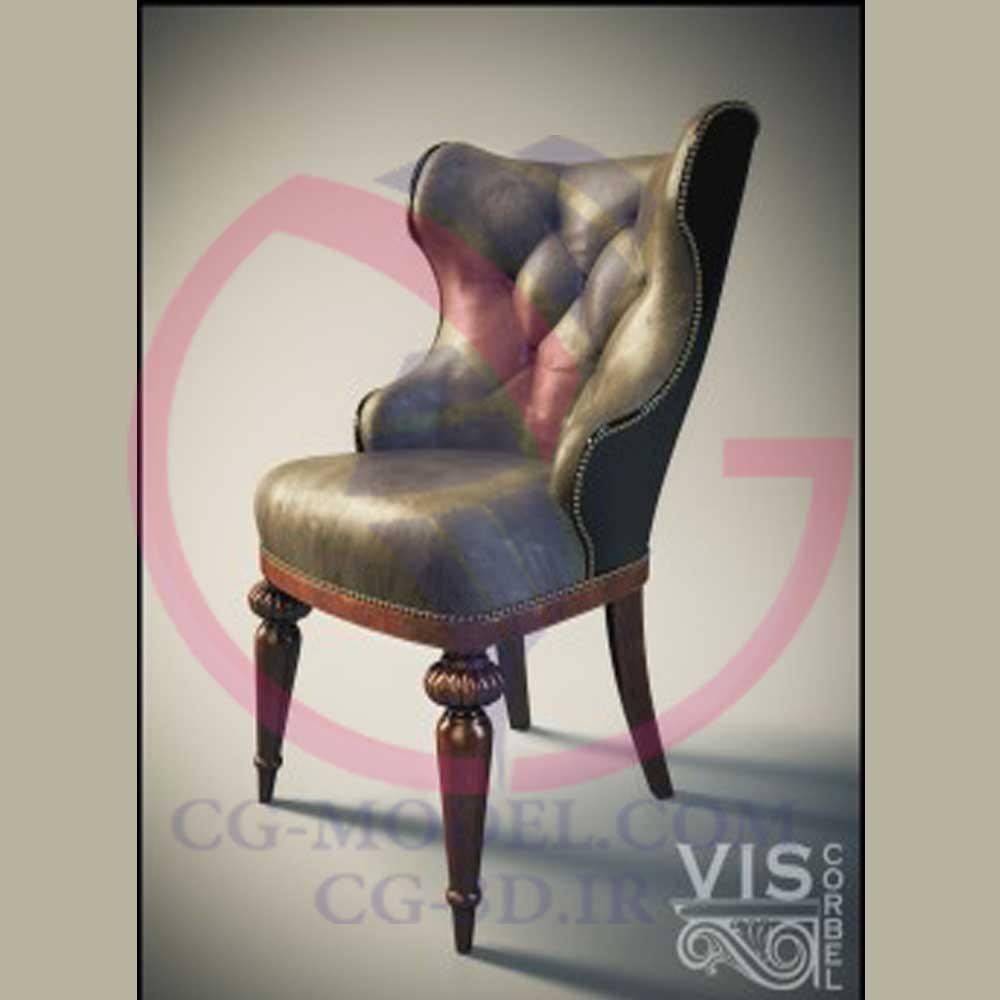 آموزش مدلسازی صندلی کلاسیک در 3dmax از شرکت Viscorble