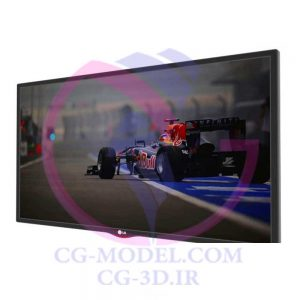 مدل سه بعدی تلویزیون LG