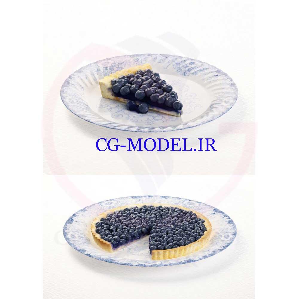 دانلود مدل سه بعدی خاویار