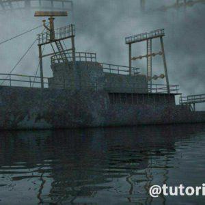 اموزش مدلسازی کشتی در 3DMAX پارت دوم