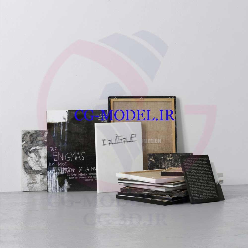 مدل سه بعدی لوازم دکوری