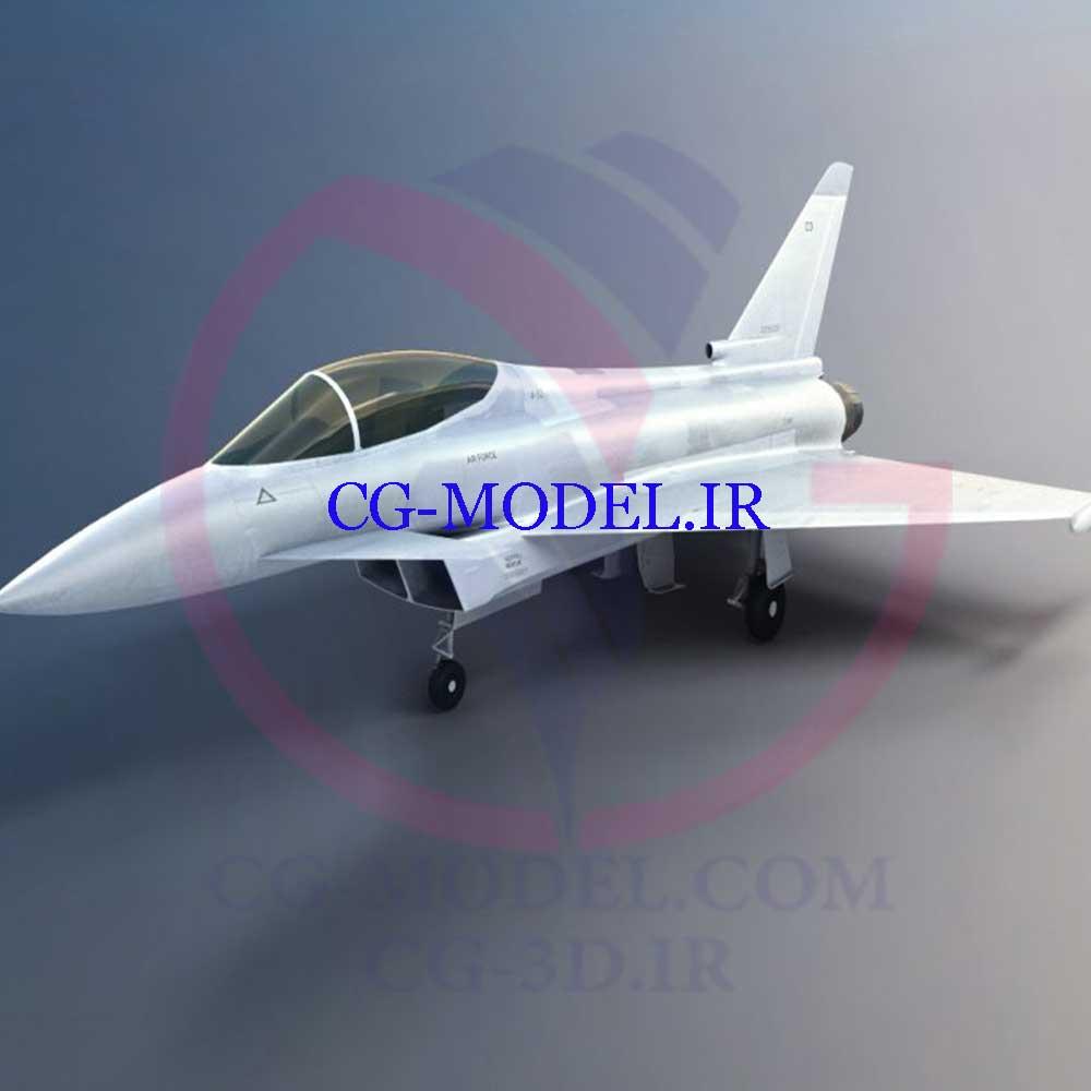 دانلود مدل سه بعدی هواپیما نظامی Military aircraft