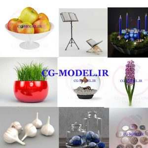 مدل های سه بعدی لوازم هفت سین