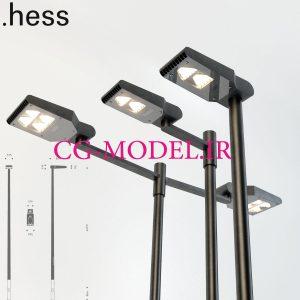 مدل سه بعدی چراغ خیابان