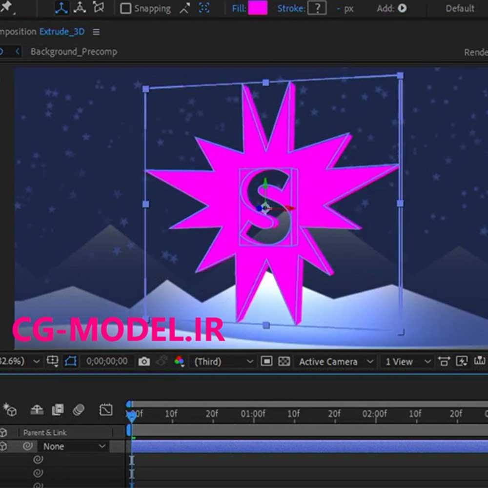 مقدمهای بر طراحی سهبعدی در نرمافزار After Effects