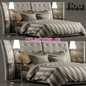 مدل سه بعدی تخت خواب (2)