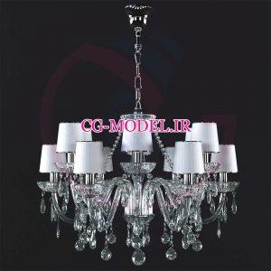مدل سه بعدی لوستر(corona)