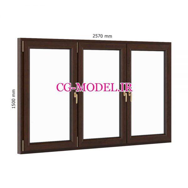 مدل سه بعدی پنجره (2)