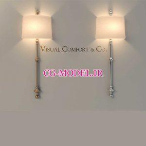مدل سه بعدی چراغ دیواری (1)