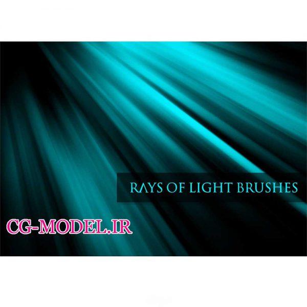 دانلود براش پرتوهای نور برای فتوشاپ