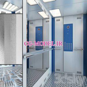 مدل سه بعدی آسانسور 2