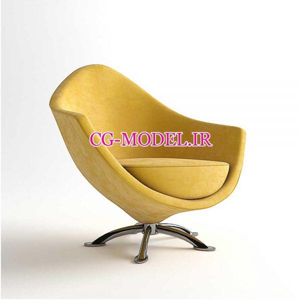 مدل سه بعدی صندلی(1)