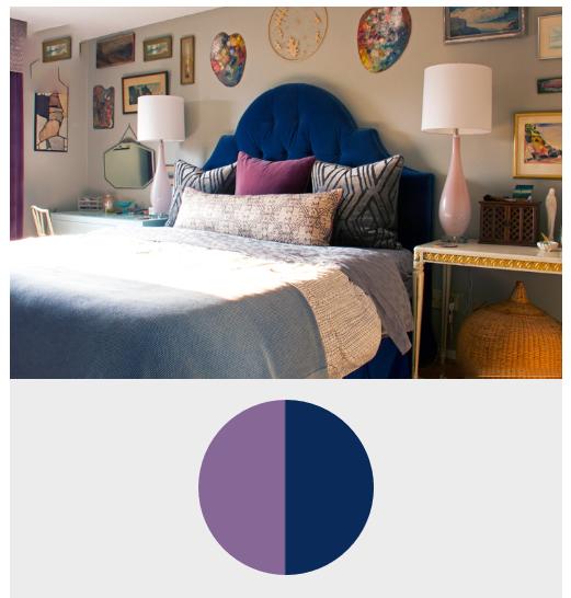 8 ترکیب منحصر به فرد رنگ بنفش در دکوراسیون داخلی منزل