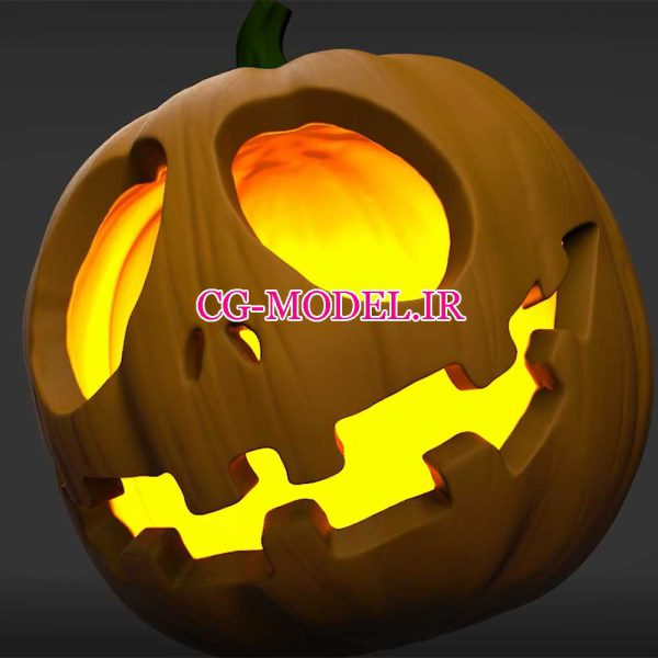 آموزش مجسمه سازی کدو تنبل هالووین در zbrush