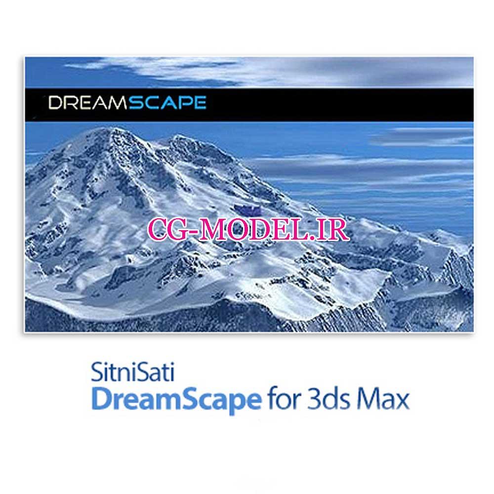دانلود پلاگین SitniSati DreamScape v2.5.8 برای 3dMax 2018,2019,2020