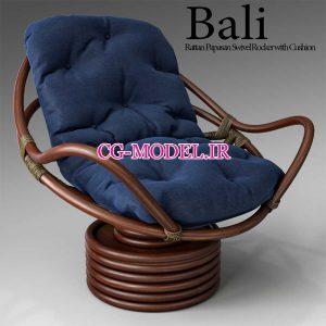 مدل سه بعدی صندلی راحتی (2)