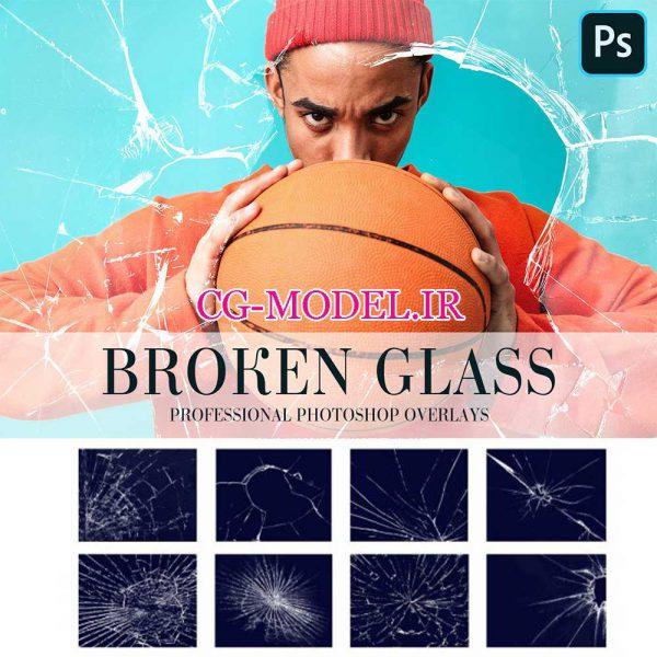20 عدد PNG شیشه شکسته