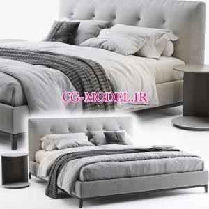 مدل سه بعدی تخت خواب (20)
