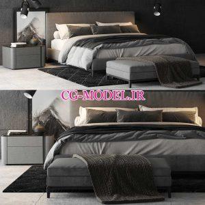 مدل سه بعدی تخت خواب (21)