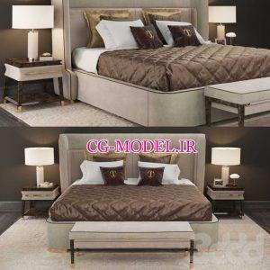 مدل سه بعدی تخت خواب (19)