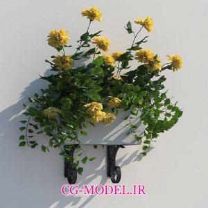 مدل سه بعدی Flower Box