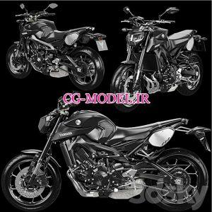 مدل سه بعدی موتور سیکلت (2)