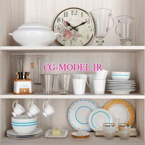مدل سه بعدی ظروف آشپزخانه (10)
