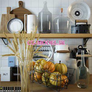 مدل سه بعدی ظروف آشپزخانه (12)