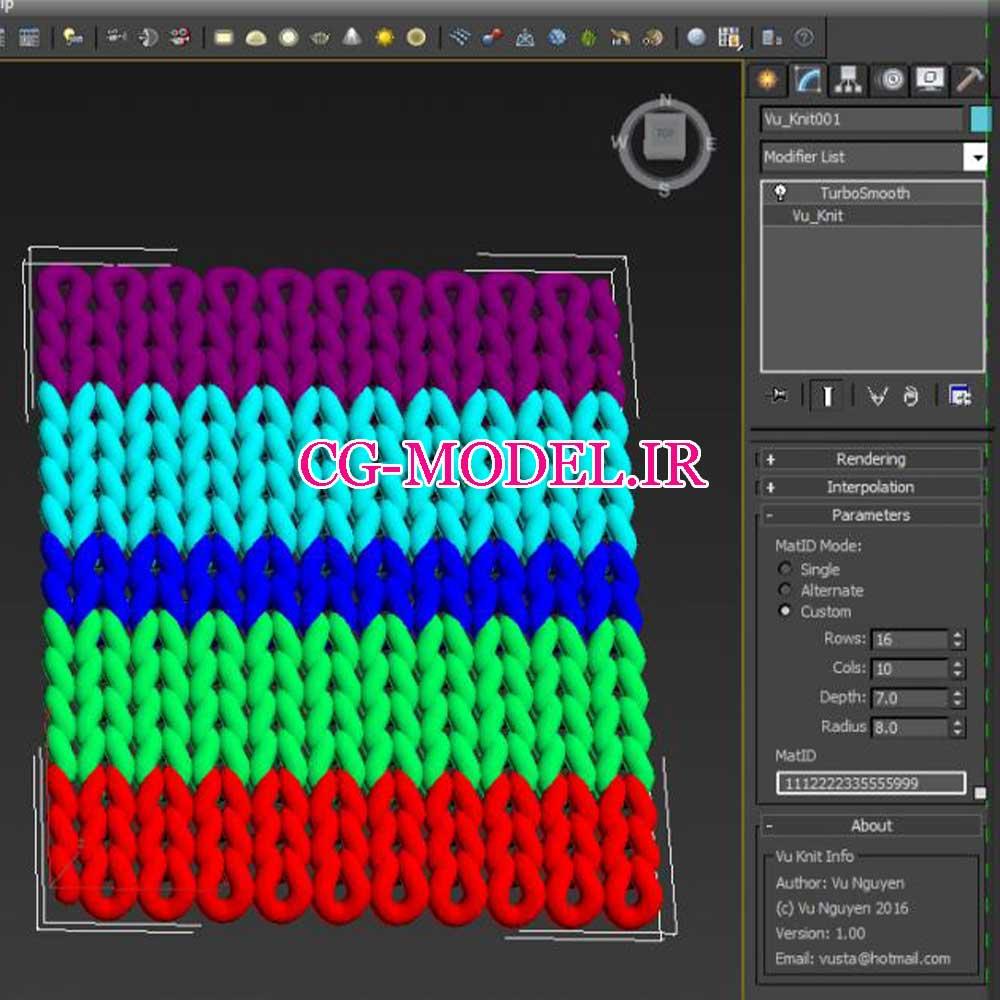 دانلود رایگان MCG Knit برای 3ds max