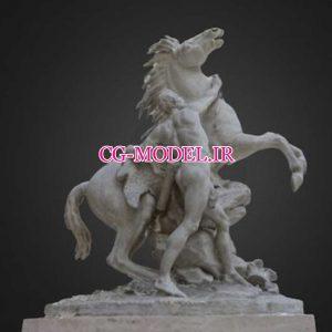 مدل سه بعدی مجسمه با فرمت obj