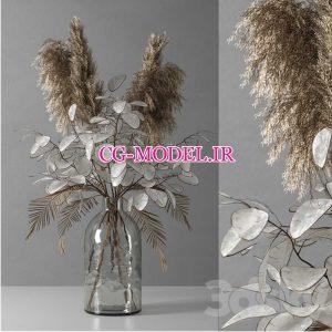 مدل سه بعدی گلدان تزئینی